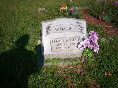 MCDANIEL, LELA D. - Bledsoe County, Tennessee | LELA D. MCDANIEL - Tennessee Gravestone Photos