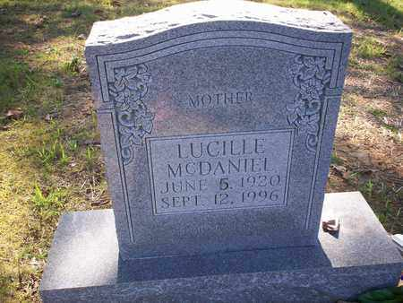 MCDANIEL, LUCILLE - Bledsoe County, Tennessee | LUCILLE MCDANIEL - Tennessee Gravestone Photos