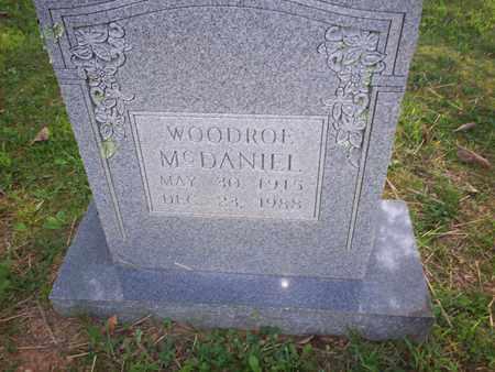 MCDANIEL, WOODROE - Bledsoe County, Tennessee | WOODROE MCDANIEL - Tennessee Gravestone Photos