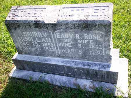 MCMILLAN, ASBURRY - Bledsoe County, Tennessee | ASBURRY MCMILLAN - Tennessee Gravestone Photos