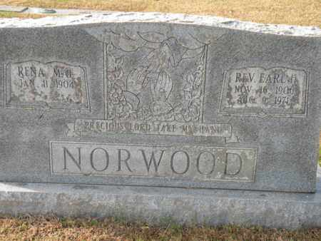 NORWOOD, EARL H. (REV) - Bledsoe County, Tennessee   EARL H. (REV) NORWOOD - Tennessee Gravestone Photos