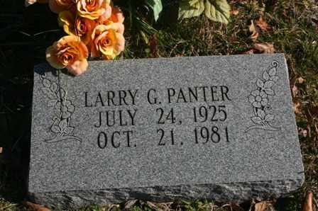 PANTER, LARRY G. - Bledsoe County, Tennessee | LARRY G. PANTER - Tennessee Gravestone Photos
