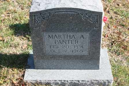 PANTER, MARTHA ANNIS - Bledsoe County, Tennessee | MARTHA ANNIS PANTER - Tennessee Gravestone Photos