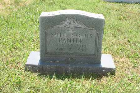 PANTER, SALLIE - Bledsoe County, Tennessee | SALLIE PANTER - Tennessee Gravestone Photos
