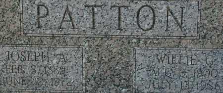 PATTON, WILLIE G. - Bledsoe County, Tennessee   WILLIE G. PATTON - Tennessee Gravestone Photos