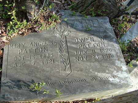 PATTON, MARRY ANGELINE - Bledsoe County, Tennessee | MARRY ANGELINE PATTON - Tennessee Gravestone Photos