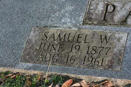 PATTON, SAMUEL W. - Bledsoe County, Tennessee | SAMUEL W. PATTON - Tennessee Gravestone Photos