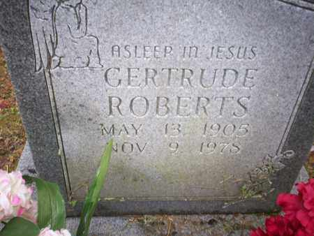ROBERTS, GERTRUDE - Bledsoe County, Tennessee | GERTRUDE ROBERTS - Tennessee Gravestone Photos