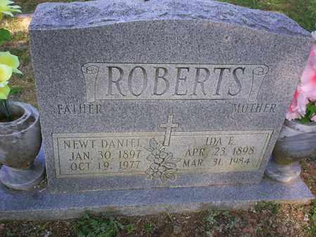 ROBERTS, NEWT DANIEL - Bledsoe County, Tennessee   NEWT DANIEL ROBERTS - Tennessee Gravestone Photos