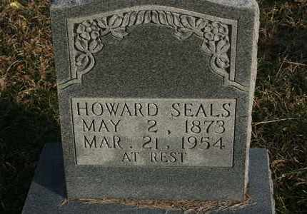 SEALS, HOWARD - Bledsoe County, Tennessee | HOWARD SEALS - Tennessee Gravestone Photos