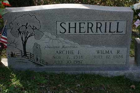 SHERRILL, WILMA R. - Bledsoe County, Tennessee | WILMA R. SHERRILL - Tennessee Gravestone Photos