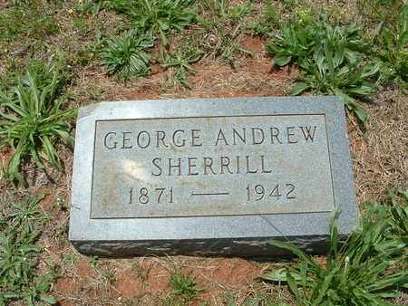 SHERRILL, GEORGE ANDREW - Bledsoe County, Tennessee | GEORGE ANDREW SHERRILL - Tennessee Gravestone Photos