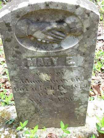 SHERRILL, MARY E. - Bledsoe County, Tennessee   MARY E. SHERRILL - Tennessee Gravestone Photos