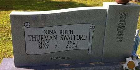 SWAFFORD, NINA RUTH - Bledsoe County, Tennessee   NINA RUTH SWAFFORD - Tennessee Gravestone Photos