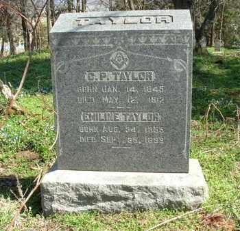 SWAFFORD TAYLOR, EMILINE ELIZA - Bledsoe County, Tennessee   EMILINE ELIZA SWAFFORD TAYLOR - Tennessee Gravestone Photos