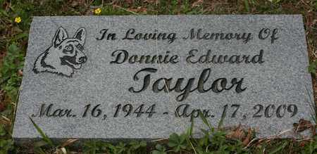 TAYLOR, DONNIE EDWARD - Bledsoe County, Tennessee | DONNIE EDWARD TAYLOR - Tennessee Gravestone Photos