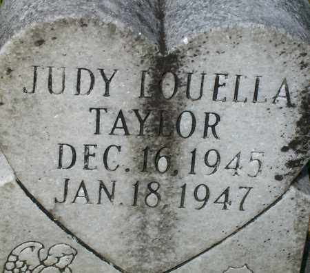TAYLOR, JUDY LOUELLA - Bledsoe County, Tennessee | JUDY LOUELLA TAYLOR - Tennessee Gravestone Photos