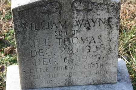 THOMAS, WILLIAM WAYNE - Bledsoe County, Tennessee | WILLIAM WAYNE THOMAS - Tennessee Gravestone Photos