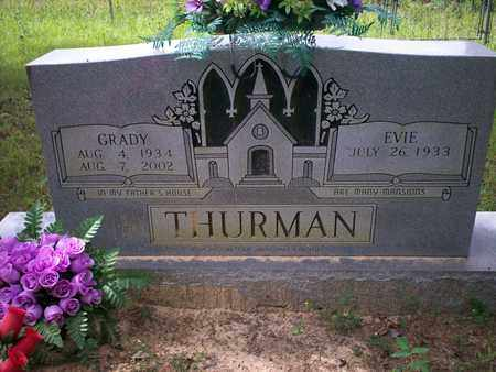 THURMAN, EVIE - Bledsoe County, Tennessee   EVIE THURMAN - Tennessee Gravestone Photos