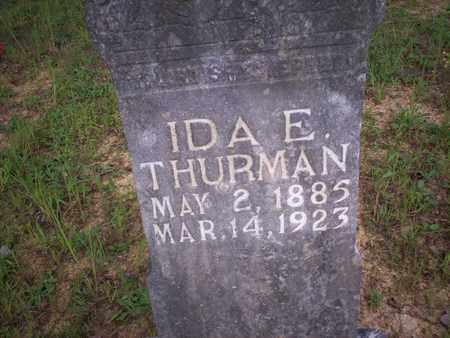 THURMAN, IDA E. - Bledsoe County, Tennessee | IDA E. THURMAN - Tennessee Gravestone Photos
