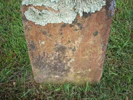 UNKNOWN, LUDINE - Bledsoe County, Tennessee | LUDINE UNKNOWN - Tennessee Gravestone Photos
