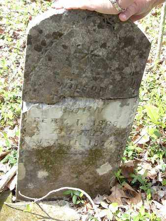 UNKNOWN, WILSON - Bledsoe County, Tennessee | WILSON UNKNOWN - Tennessee Gravestone Photos