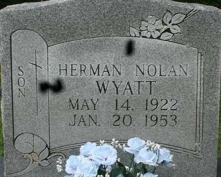 WYATT, HERMAN NOLAN - Bledsoe County, Tennessee | HERMAN NOLAN WYATT - Tennessee Gravestone Photos