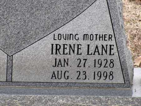 LANE ANDERSON, IRENE (CLOSE UP) - Blount County, Tennessee | IRENE (CLOSE UP) LANE ANDERSON - Tennessee Gravestone Photos