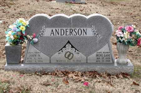 LANE ANDERSON, IRENE - Blount County, Tennessee | IRENE LANE ANDERSON - Tennessee Gravestone Photos