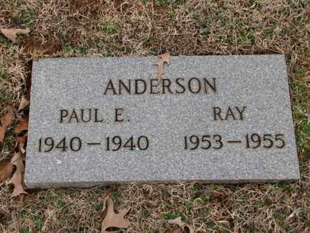 ANDERSON, RAY - Blount County, Tennessee | RAY ANDERSON - Tennessee Gravestone Photos