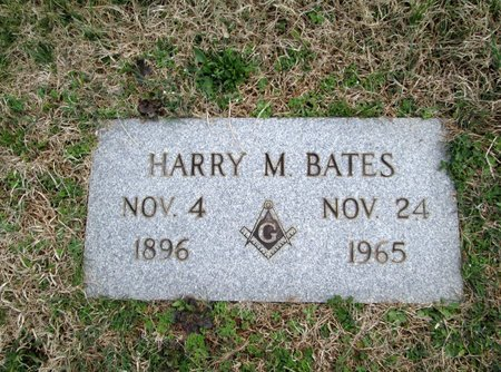 BATES, HARRY M - Blount County, Tennessee | HARRY M BATES - Tennessee Gravestone Photos
