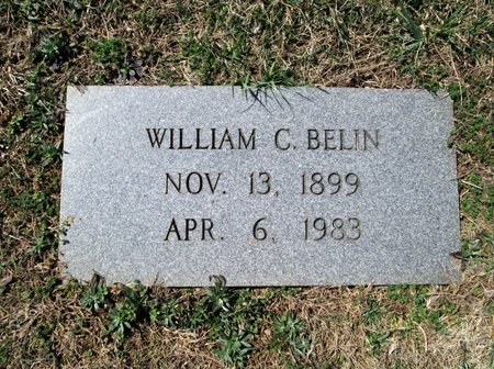 BELIN, WILLIAM C - Blount County, Tennessee | WILLIAM C BELIN - Tennessee Gravestone Photos