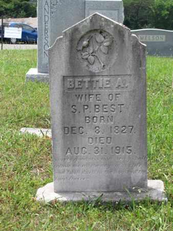 BEST, BETTIE A. - Blount County, Tennessee   BETTIE A. BEST - Tennessee Gravestone Photos