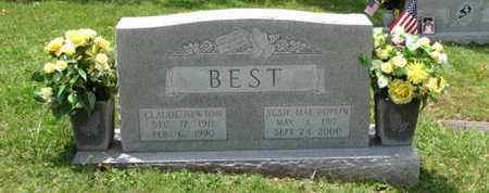 BEST, CLAUDE NEWTON - Blount County, Tennessee | CLAUDE NEWTON BEST - Tennessee Gravestone Photos