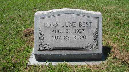 BEST, EDNA JUNE - Blount County, Tennessee | EDNA JUNE BEST - Tennessee Gravestone Photos