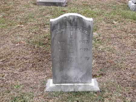 BEST, FEDRIC D. - Blount County, Tennessee | FEDRIC D. BEST - Tennessee Gravestone Photos