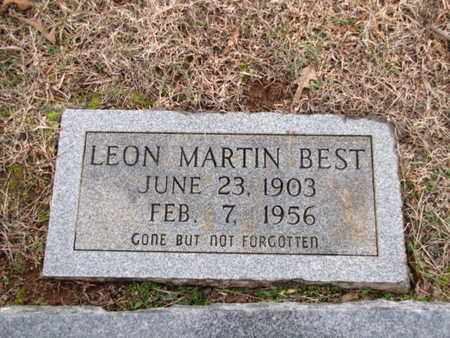 BEST, LEON MARTIN - Blount County, Tennessee | LEON MARTIN BEST - Tennessee Gravestone Photos