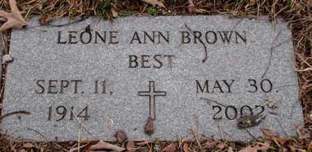 BEST, LEONE ANN - Blount County, Tennessee | LEONE ANN BEST - Tennessee Gravestone Photos