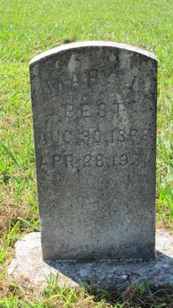 BEST, MARY L - Blount County, Tennessee | MARY L BEST - Tennessee Gravestone Photos