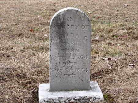 BEST, MATILDA C. - Blount County, Tennessee | MATILDA C. BEST - Tennessee Gravestone Photos
