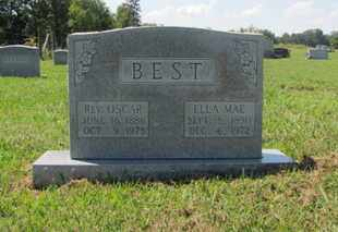 BEST, ELLA MAE - Blount County, Tennessee | ELLA MAE BEST - Tennessee Gravestone Photos