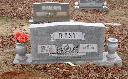 BEST, TRENTON O. - Blount County, Tennessee | TRENTON O. BEST - Tennessee Gravestone Photos