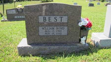 BEST, WILLIAM BOYD - Blount County, Tennessee | WILLIAM BOYD BEST - Tennessee Gravestone Photos