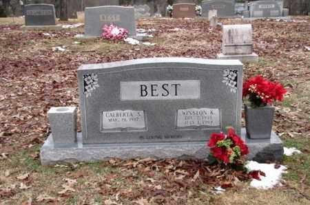 BEST, WINSTON K. - Blount County, Tennessee | WINSTON K. BEST - Tennessee Gravestone Photos