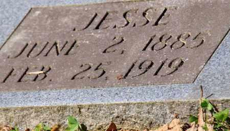 BURCHFIELD, JESSE (CLOSE UP) - Blount County, Tennessee | JESSE (CLOSE UP) BURCHFIELD - Tennessee Gravestone Photos