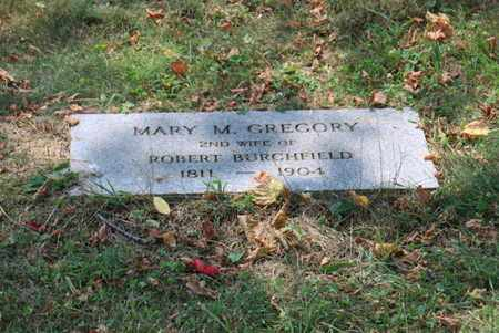 GREGORY BURCHFIELD, MARY M - Blount County, Tennessee | MARY M GREGORY BURCHFIELD - Tennessee Gravestone Photos