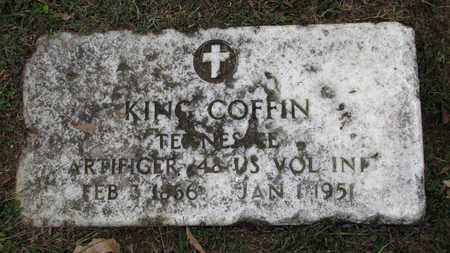 COFFIN  (VETERAN), KING - Blount County, Tennessee | KING COFFIN  (VETERAN) - Tennessee Gravestone Photos