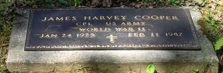 COOPER  (VETERAN WWII), JAMES HARVEY - Blount County, Tennessee | JAMES HARVEY COOPER  (VETERAN WWII) - Tennessee Gravestone Photos