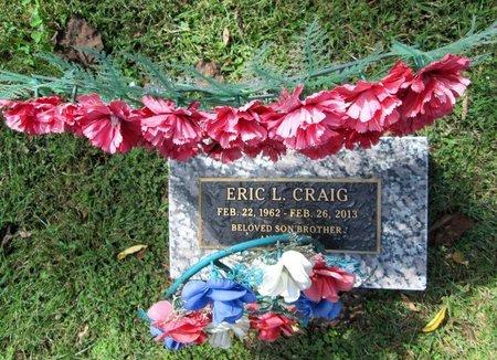 CRAIG, ERIC L - Blount County, Tennessee | ERIC L CRAIG - Tennessee Gravestone Photos