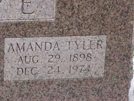 CRYE, AMANDA (CLOSE-UP) - Blount County, Tennessee | AMANDA (CLOSE-UP) CRYE - Tennessee Gravestone Photos
